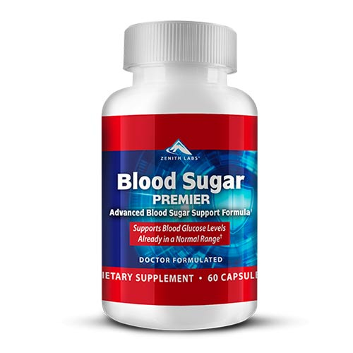 Blood Sugar Premier supplement by zenith labs