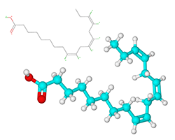 Alpha Lipoic Acid (ALA) molecular diagram