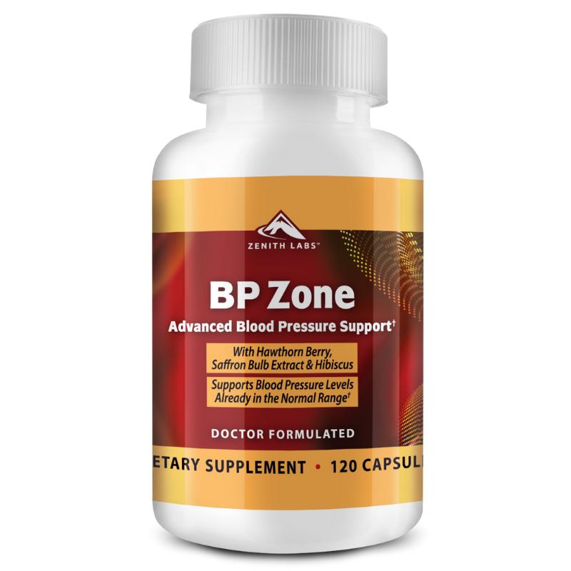 BP Zone advanced blood pressure support supplement