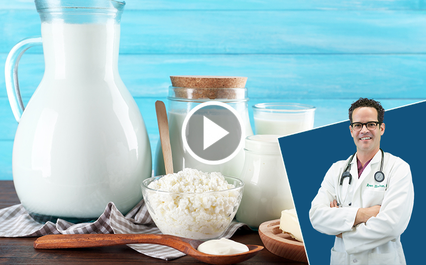 Dairy and is it good for you Doctor's thoughts