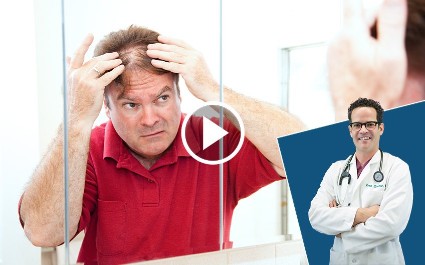 Top 3 Causes of thinning hair and what to do about it