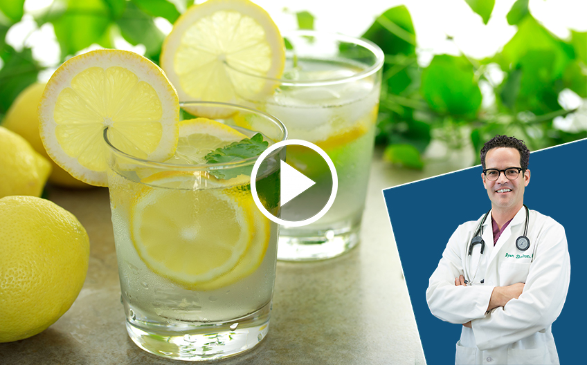What Positive Benefit Could Drinking Lemon Water Daily Have