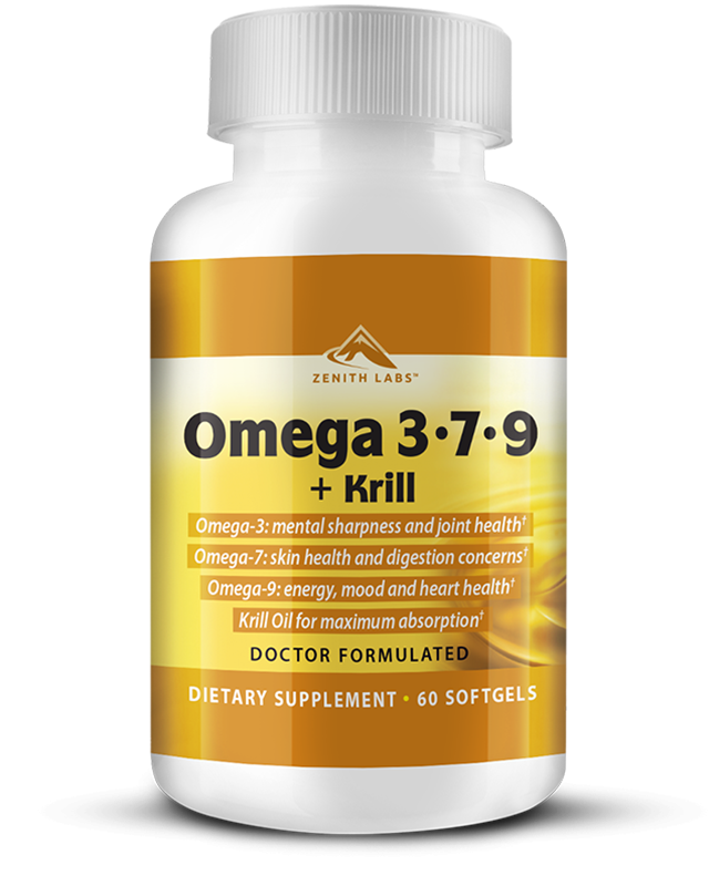 Omega 3-7-9 + Krill by zenith labs