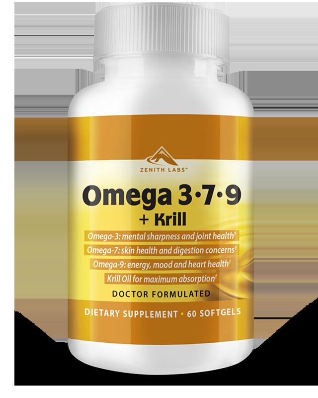 Omega 3-7-9 + Krill