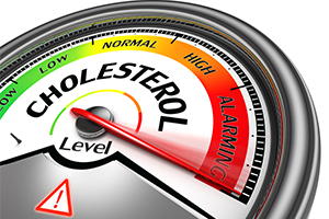 scale measuring cholesterol level