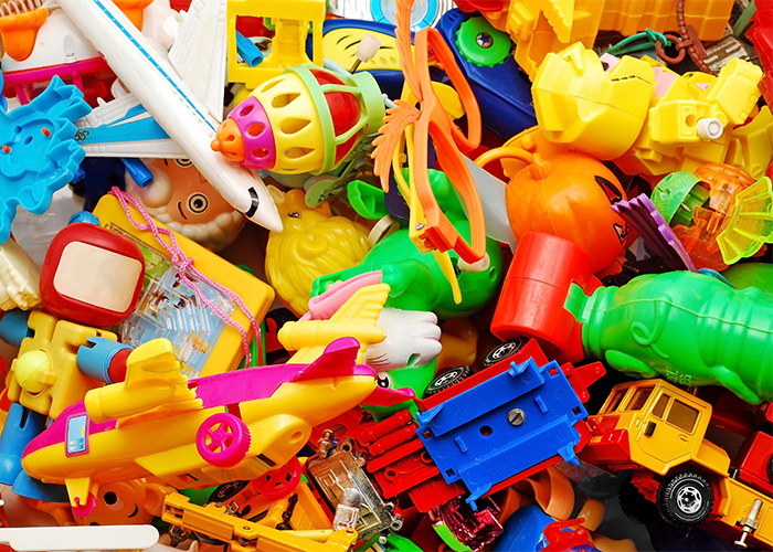 colourful plastic children's toys