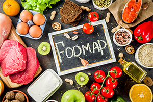 fodmap foods laid out on a table