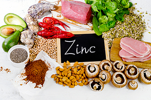 foods highest in zinc