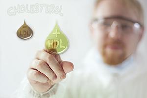 good HDL cholesterol to bad LDL cholesterol