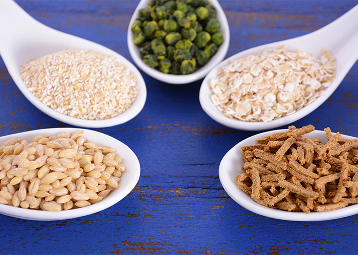 spoonfuls of high fiber prebiotic grains