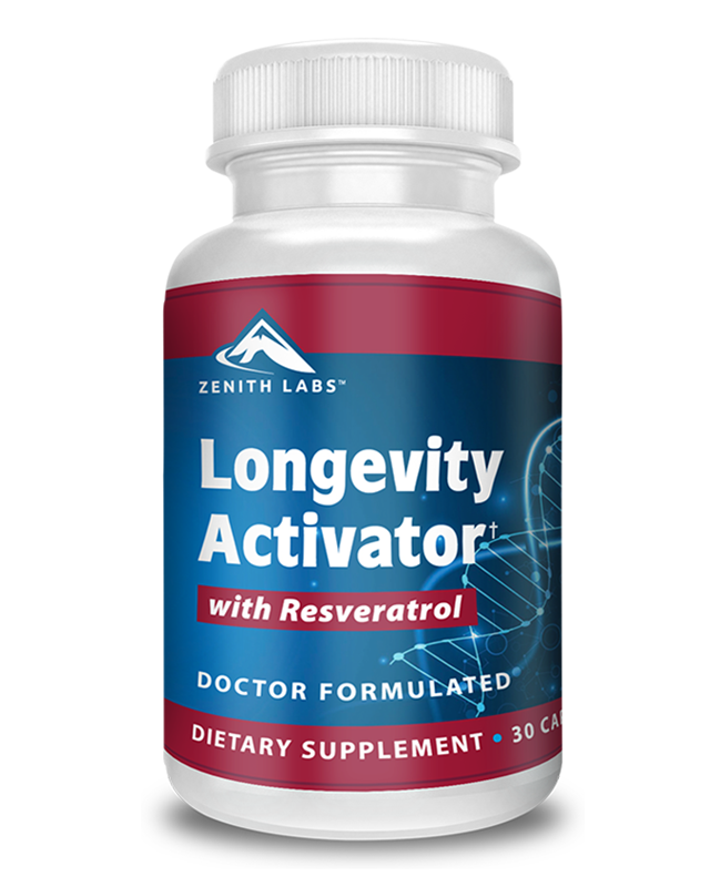 Longevity Activator supplement by Zenith Labs