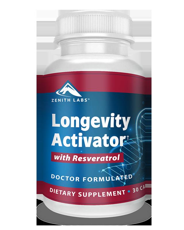 Longevity Activator supplement by Zenith Labs