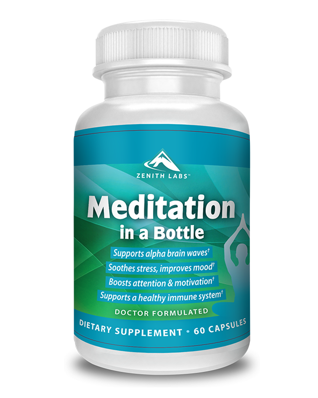 meditation in a bottle supplement by zenith labs