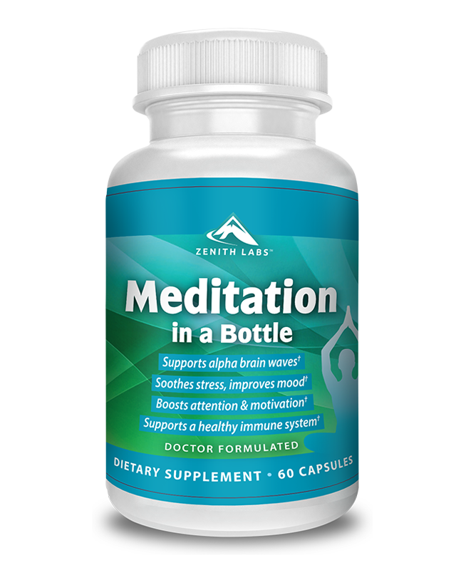 meditation in a bottle