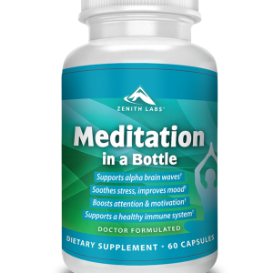 Meditation in a Bottle by zenith labs