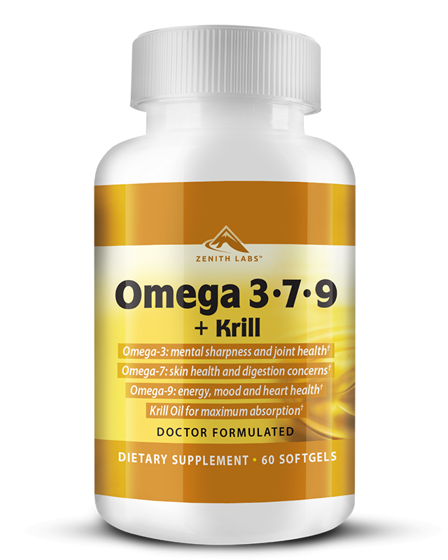 omega 3-7-9+krill supplement by zenith labs
