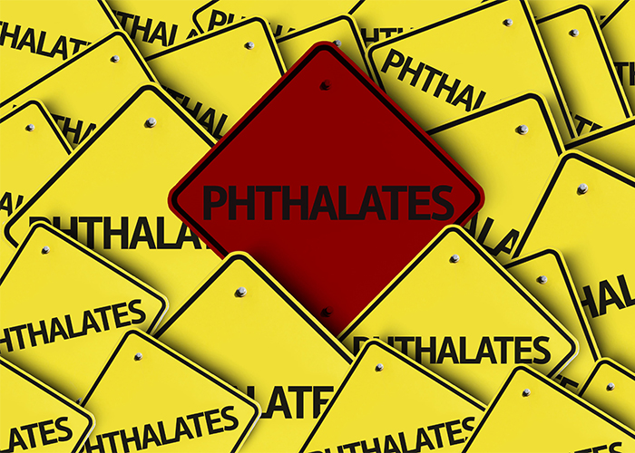 phthalates written on multiple road signs