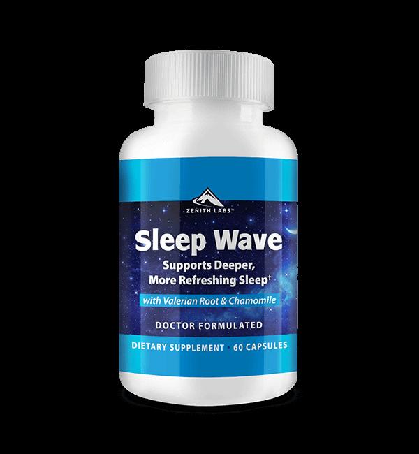Sleep Wave supplement by Zenith Labs