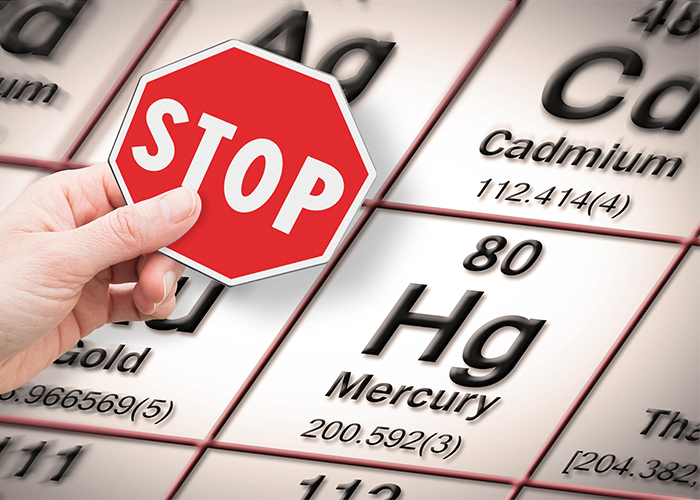 stop heavy metals sign